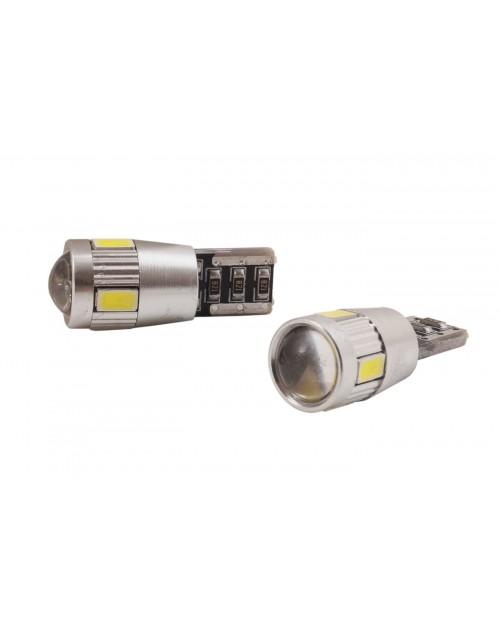 COPPIA LAMPADINE POSIZIONE T10 LED CANBUS