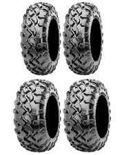 TRENO COMPLETO PNEUMATICI  QUAD ATV MAXXIS CORONADO 27X9-14 27X11-14 8PLY